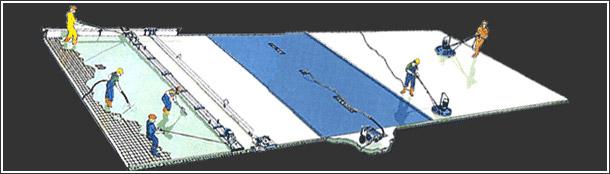 Vdf Flooring Service : Vacuum dewatering flooring